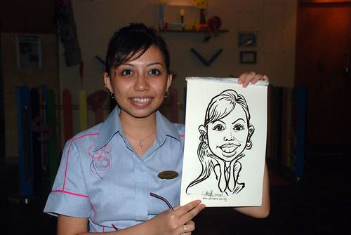 Caricature live sketching for Costa Sands Resort Day 3 - 10