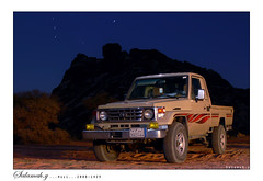 (Salamah.y) Tags: mountains cars 2004 car night saudi arabia toyota land cruiser                                          salamahy