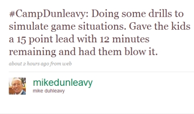 Dumbleavy Tweet 1