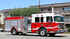 SJS Fire Engine 14 (YFD) Tags: fire sanjose firetruck fireengine sjfd emergency firedepartment hitech spartan gladiator pumper