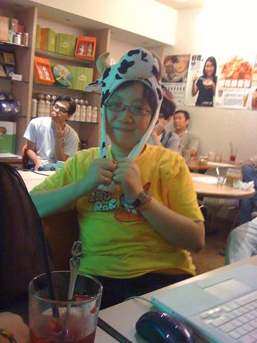你拍攝的 20090613IdeaMoo拆組達人風生水起_果子咖啡010.jpg。