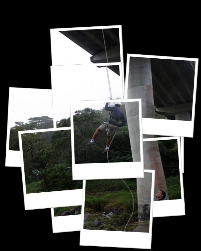 Descente en rappel ce samedi à Tiwaka