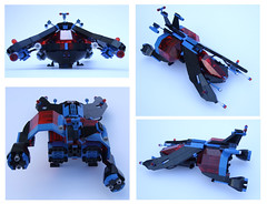 SPa (Rogue Bantha) Tags: lego police spaceship spacepolice