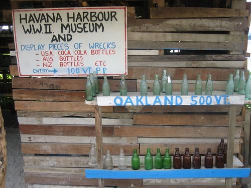 WWII Museum:  Havannah Harbor, Efate Island, Vanuatu