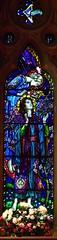 St Cecelia, Waterford (robin.croft) Tags: stainedglass waterford hertfordshire williammorris preraphaelite burnejones morrisco