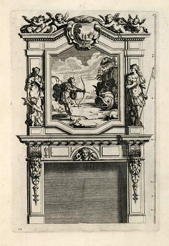 005-Livre d'architecture d'autels, et de cheminees- Barbet Jean-1633- © Institut national d'histoire de l'art