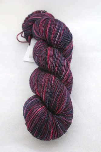 Madelinetosh Sock in Black Currant