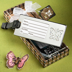 Fashioncraft Luggage Tag (Butterfly)