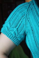 Turquoise Decimal Cardigan