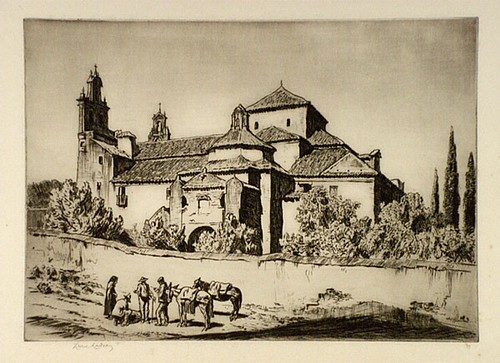 Lionel Lindsay, Carmelite Convent of San Gaetano, Cordova (1936).