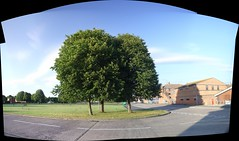 trees pano (Geoff_B) Tags: autostitch bristol 2009 eveningstroll southmead 10millionphotos badockswood 29june2009