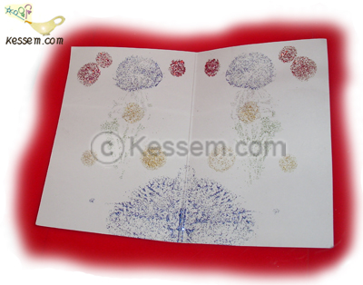 A Super-Simple Dazzling Greeting Card