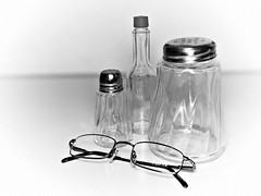 glasses (debaj) Tags: white black table glasses object olympus zuiko e510 1442