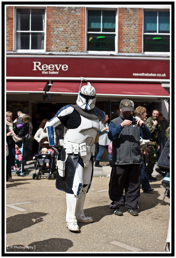 day 123 - lord vader comes to blandford georgian fair