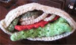 Handknit Pita Sandwich - Play Food