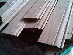 Oak Baseboard (moulding photos) Tags: oak redoak baseboard randomlength