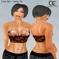Deck Gift Halter Top