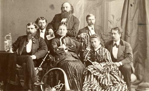 Musicians c. 1870's