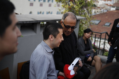 Jia Zhangke and Abbas Kiarostami