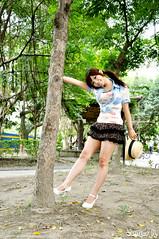 辛咩咩50 (袋熊) Tags: hot cute sexy beauty taiwan taipei 台北 可愛 外拍 性感 公民會館 時裝 數位遊戲王 辛咩咩
