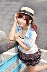 辛咩咩52 (袋熊) Tags: hot cute sexy beauty taiwan taipei 台北 可愛 外拍 性感 公民會館 時裝 數位遊戲王 辛咩咩