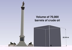 70,000 barrels of crude oil
