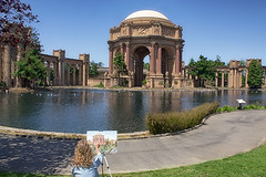 Palace of Fine Arts Two Looks (cstout21) Tags: sf sanfrancisco california ca travel blue chris vacation usa reflection green water grass delete10 delete9 painting delete5 delete2 us colorful pretty view unitedstates delete6 delete7 save3 peaceful delete8 delete3 landmark palace delete delete4 save save2 massive dome bayarea column palaceoffinearts westcoast hdr highdynamicrange stout sanfranciscoskyline ngoc canon60d deletedbythehotboxuncensoredgroup stoutandstout northamera