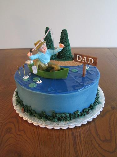 cake toppers fishing. FISHING CAKE