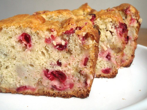Cranberry Banana Cake Recipe