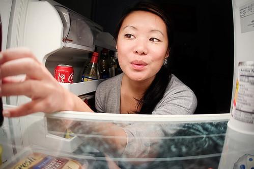 {6/365} clean fridge.