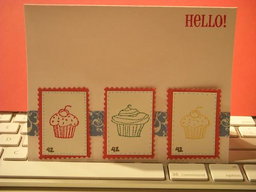 Hello! Cupcake card