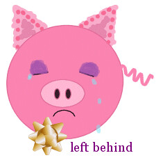 'piggy left behind' by TS