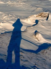 Shadow @ Wasaga (Rock Steady Images) Tags: winter ontario canada ice beach me canon wasaga hiking rebelxt 50views 25views sigma1770mmf2845 photoshopcs3 7pointsystem bypaulchambers rocksteadyimages