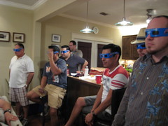 The Gang with 3D Glasses
