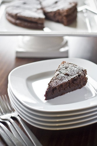 Chocolate Souffle Cake2