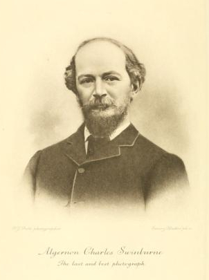 swinburne, last photograph