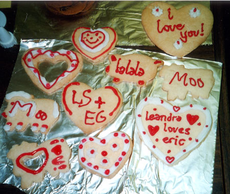 Valentine's Day circa 1998