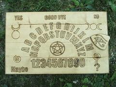 Wiccan Ouija Board (dragonoak) Tags: furniture witch ritual pagan dragonoak