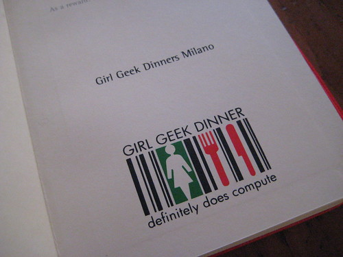Inside the Personalized Moleskines for Girl Geek Dinners Milano