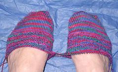 Leyburn's_Cast-on2 (Uglysock) Tags: project 2009 kal str bejewelled leyburns socksthatrawk