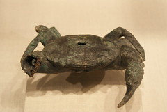 Bronze Crab (griannan) Tags: 2009 loh metmuseum bronzesculpture greekandromangalleries opalartseekers4 WLA:org=metmuseum WLA:cat=1 WLA:team=opalartseekers4