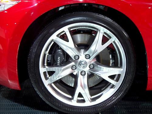 Nissan 370Z, rims
