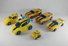 Transformers Bumblebees modo alterno