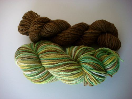 """Avacado"" yarn"