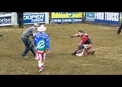 He wins again! (.emily.) Tags: cowboy dirt winner pbr professionalbullriders guilhermemarchi flintrasmussen