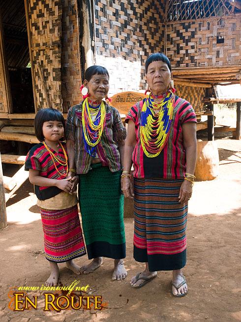 Laven Ethnic Tribe Women