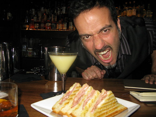 Sour Kraut, Ham/Cheese Panini & Vincenzo by Caroline on Crack