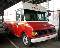 EMS04s FDNY EMS Division 1 Truck, New York City (jag9889) Tags: city nyc house ny newyork cars station truck 1 major manhattan 4 lowereastside center ambulance medical company vehicles vehicle service vans technician paramedics emergency ems fdny emt 2009 department fdrdrive southstreet response personnel bravest battalion medics pier36 division1 battalion4 y2009 ems04 jag9889