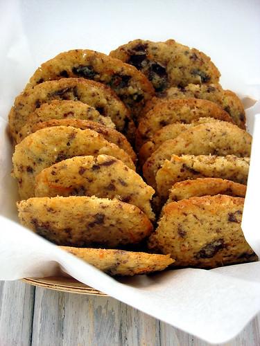 Orangen-Schokoladen-Cookies