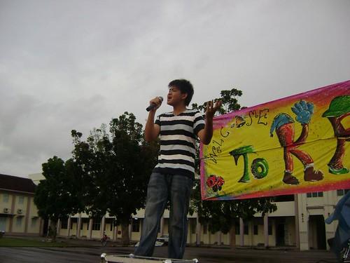 Yang Jie Singing
